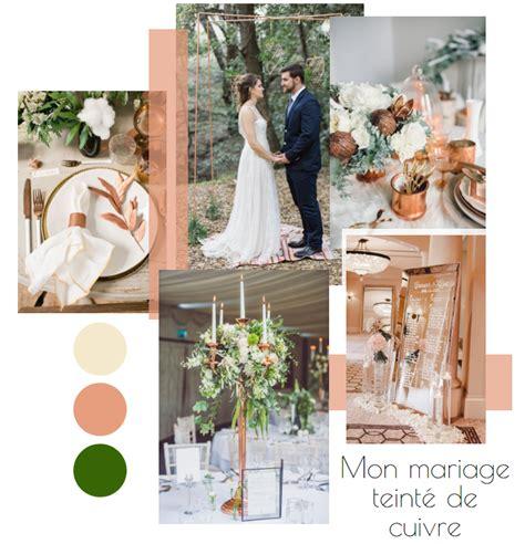 Mon mariage subtilement teinté de cuivre Wedding
