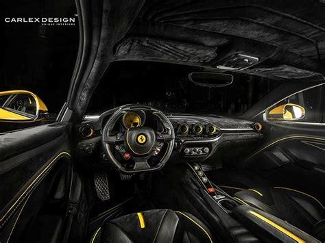 Wer sich nicht mit dem zweitbesten zufriedengibt und auf puren geschwindigkeitsrausch setzt wird den ferrari 812 lieben. This Ferrari F12 Berlinetta Custom Interior Is A Feast For The Eyes - CarBuzz