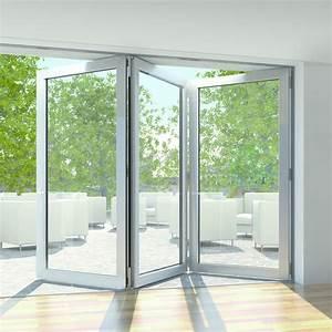 Porte fenetre repliable coulissante jusqu39a 12 vantaux for Porte fenetre coulissante galandage