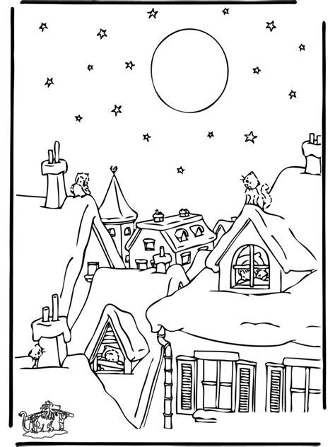 christmas  fargeleggingstegninger jul