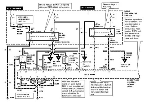 Bronco Need Wiring Diagram Fuel Pump Circuit Ground