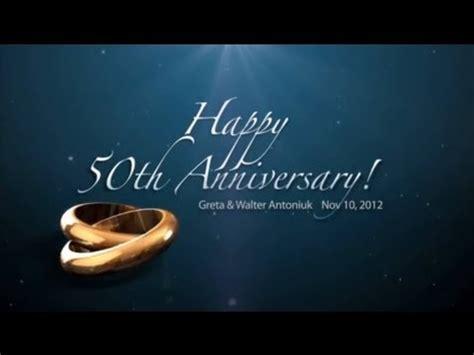 dvd  anniversary slideshow greta  walter antoniuk