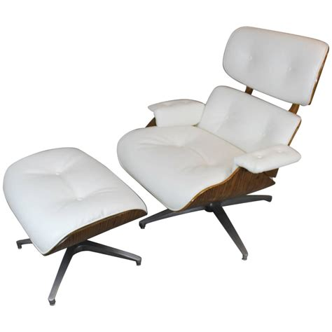 chaise style eames eames style lounge chair and ottoman at 1stdibs