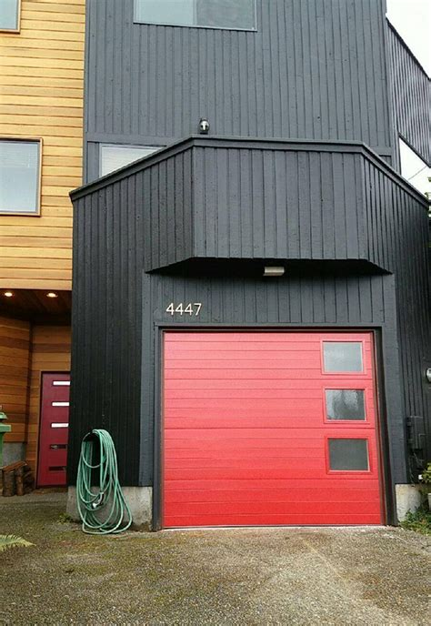 Modern Curb Appeal   Contemporary Garage Door Makeover by