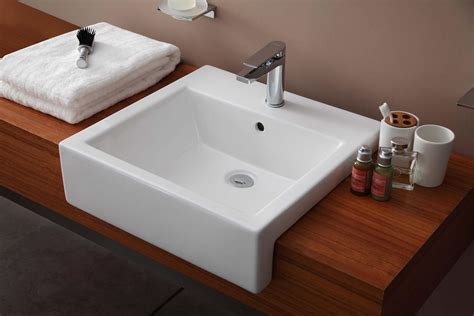 Recessed Sink Bathroom, Ws Bath Collections Cento