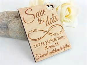 save the date magnets wedding infinite custom save the date magnet set wood save the