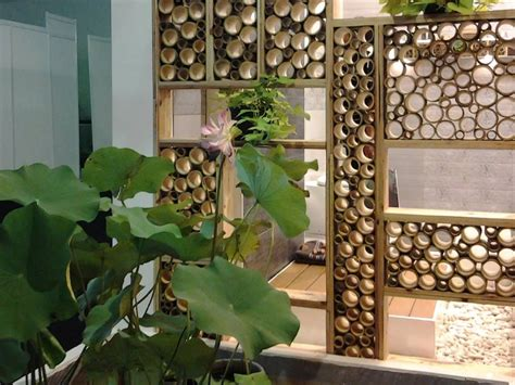 Outdoor home decor lastic artificial 10 bamboo leaf tree green plants. Timeline Photos - Jual Kerai Bambu | Bamboo decor, Bamboo design, Bamboo landscape