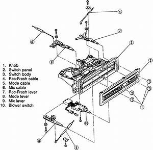 repair guides heating and air conditioning control With 1995 mazda mx 3 wiring diagram and body electrical system troubleshooting