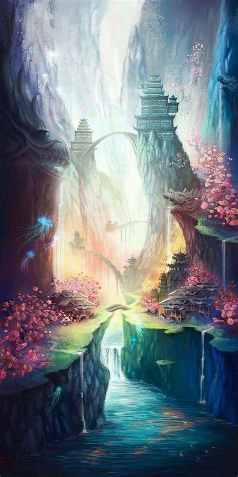 place  peace orientalinspired fantasyart