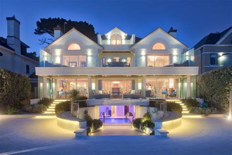 magnificent sandbanks home  epitome  luxurious living