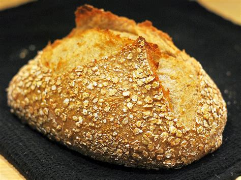 See more ideas about barley bread recipe, bread recipes, barley. Rustic 3 grains bread with barley sourdough - Dad in the ...