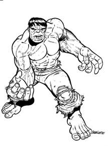 free coloring pages incredible hulk gallery
