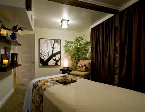massage room zen acupuncture decor sanctuary spa rooms relaxing healing therapy dragon chinese thai facial treatment counseling decorating space reiki