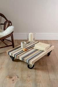 Table Tres Basse : diy deco pas cher construire une table basse avec des ~ Teatrodelosmanantiales.com Idées de Décoration