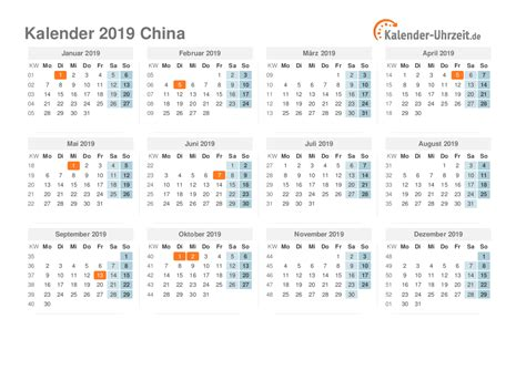 feiertage china kalender uebersicht