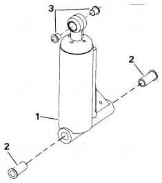Johnson 1991 40 - Vj40teleia  Tilt Assist Cylinder