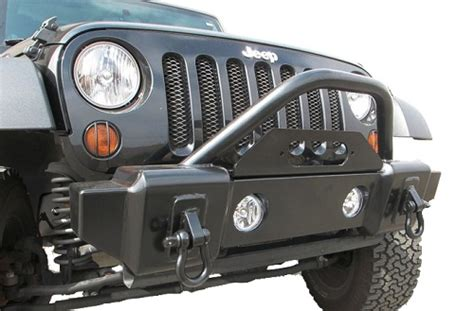 jeep stinger bumper purpose all things jeep front mass articulation stubby recovery