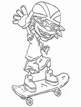 Rocket Power Coloring Pages Fun sketch template