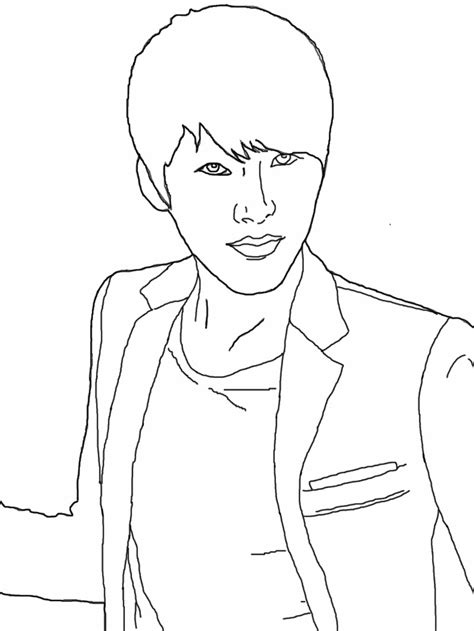bts coloring kpop coloring sheets