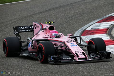 Esteban Ocon Force India Shanghai International Circuit
