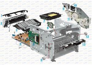 Parts Diagram For Laserjet P2055