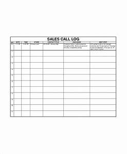 call log templates free sales log templates 13 free printable xlsx docs pdf