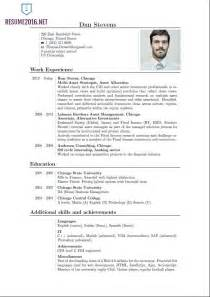 Curriculum Vitae Templates Pdf by Curriculum Vitae Sle For Template Resume Builder