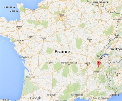 Where is Chambery on map France | World Easy Guides