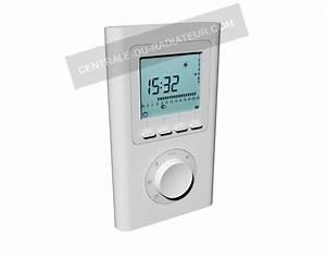 Radiateur Electrique Avec Thermostat : thermostat radiateur lectrique onde radio ~ Edinachiropracticcenter.com Idées de Décoration