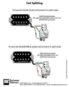 Seymour Duncan Wiring Diagram Humbuckers Vol Way