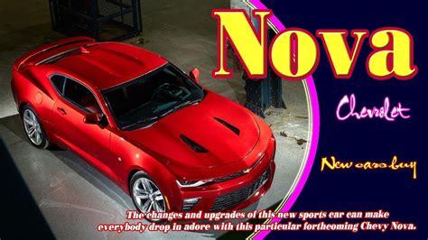 New Chevy Nova Concept Motaveracom