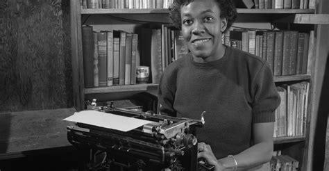 Gwendolynbrookswithtypewriter  Black Women Authors