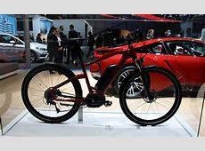 Un vélo électrique BMW au salon de l'auto de Genève