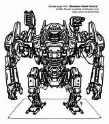 Robot Coloring Robots Drawing Sample Factory Amazon 1st Couple Been Amzn Everyday Several Comments Encouragement Printed Ve Years Points sketch template