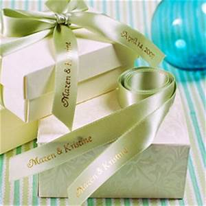 personalized ribbons for wedding all about wedding With personalized ribbon for wedding favors