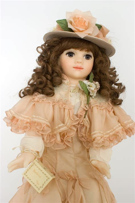 beatrice wax soft body limited edition art doll