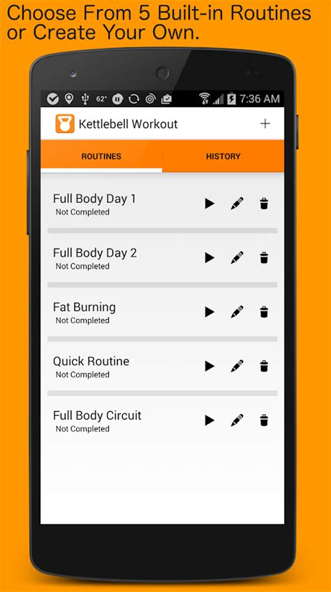kettlebell workouts apps google play