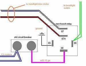 Headlight Motor Relay Upgrade For 1970  U0026 Up