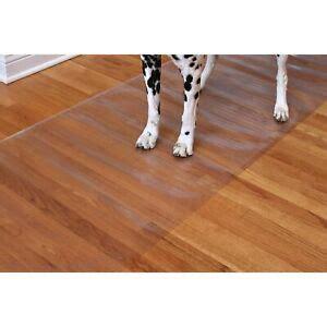 Clear Floor Mats For Hardwood Floors - clear vinyl runner hardwood floor protector plastic mat