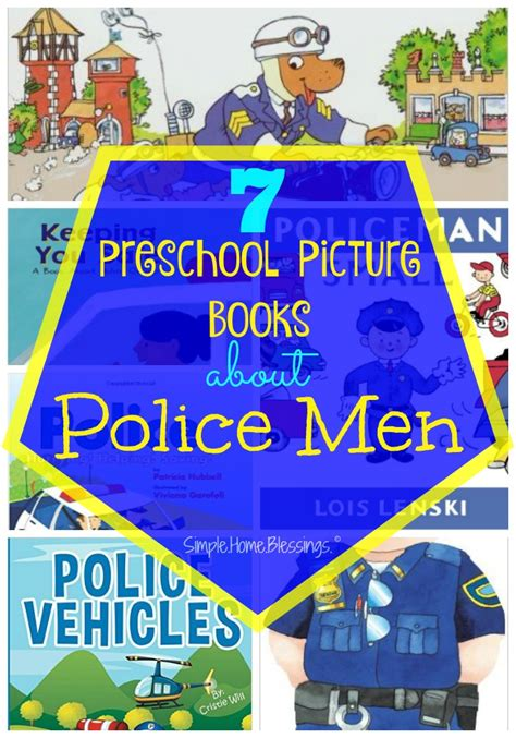 preschool helpers simple home blessings 468 | Preschool Picture Books to read as part of a community helpers unit on Police Men