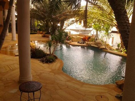 florida backyard design pool patios by matthew giietro