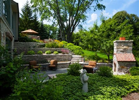 terraced yard small backyard landscaping ideas  diys