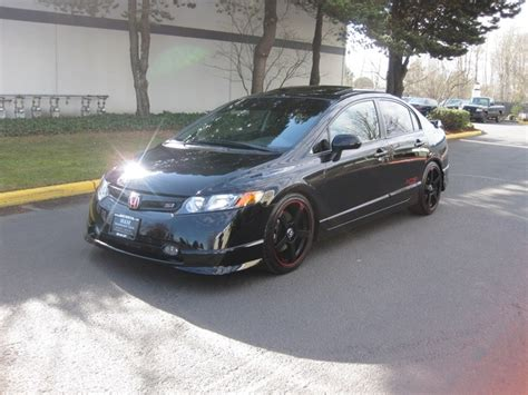 si鑒e auto sport 2008 honda civic si 6 speed all custom sport kit rims 1 owner