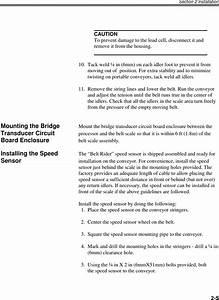 Scitronics Dsp1000ot900 Conveyor Belt Scale User Manual