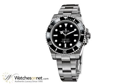 Rolex Submariner 114060 Men's Stainless Steel Automatic Watch