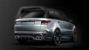 Overfinch Has Made The Range Rover Svr Even Madder