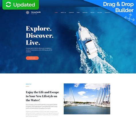 Top Website Template Builders by Top 10 Best Website Templates With Drag And Drop Website