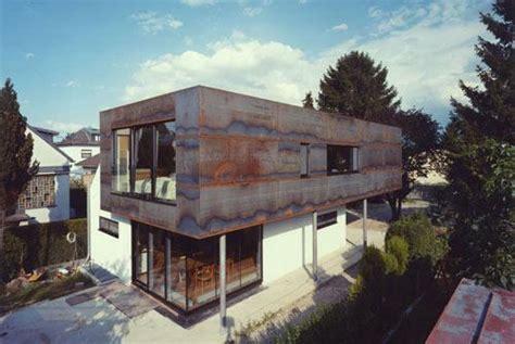 Cortenstahl Fassade Befestigung by Fassade Aus Rost Tektorum De
