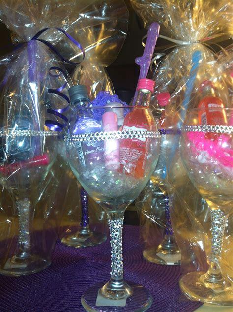 Bachelorette Party Favors Glitter Wine Glass Drinks ️t