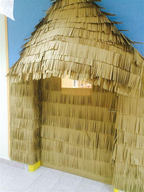 Tiki Hut Decoration Ideas by A Tiki Hut For My Classroom Door Bulletin Board And